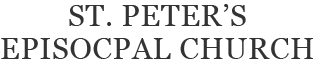 st peters episcopal church lakewood logo