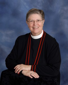 The Rev. Dr. Nancy H. Wittig at St. Peter's Episcopal Church Lakewood Ohio